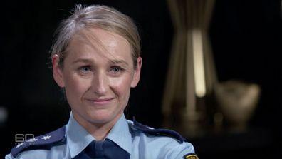 Detective Inspector Gretchen Atkins.