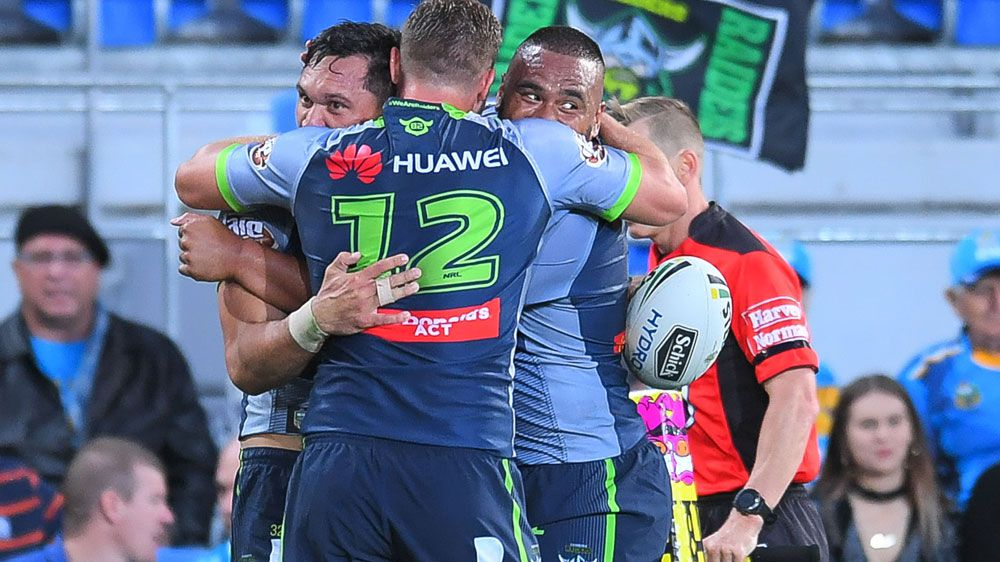 Canberra Raiders too strong for Gold Coast Titans