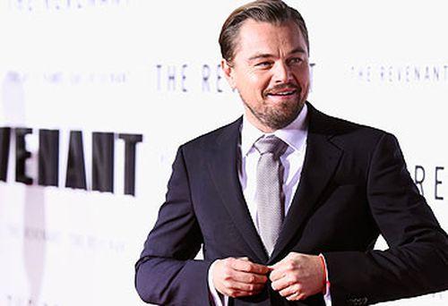 Leonardo DiCaprio at The Revenant premiere (Getty)