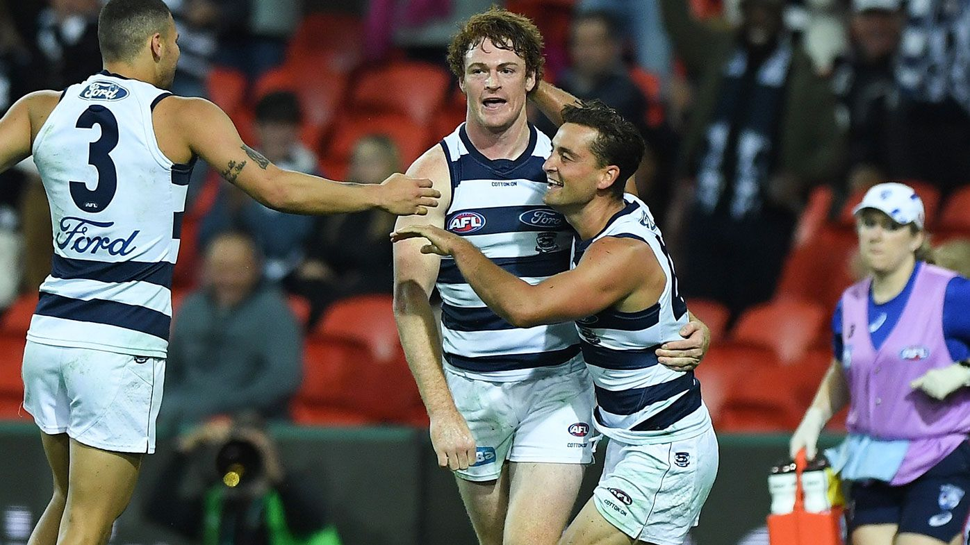 Geelong score comeback win after 'bag of s--t' start