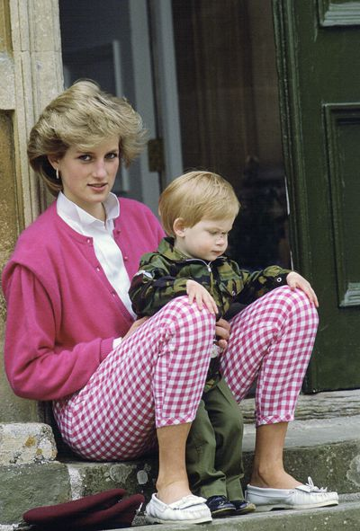 On trend in gingham back in 1986.