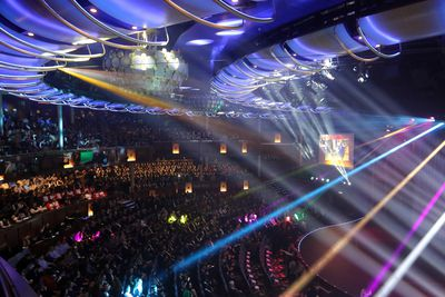 The ship also features a full-sized theater where passengers can enjoy a variety of different performances.