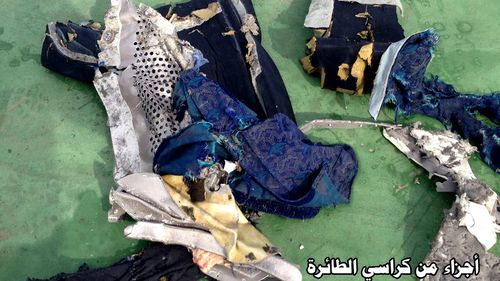 Egyptian officials believe there was an explosion on EgyptAir flight 804