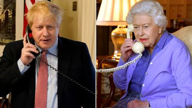 Boris Johnson, Queen Elizabeth