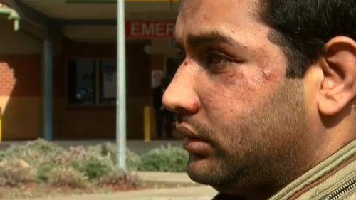 Mr Ali spoke to 9NEWS outside the Northern Hospital.