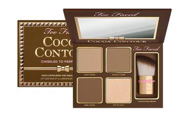 "<a href=""http://mecca.com.au/too-faced/cocoa-contour-kit/I-021595.html#q=chocolate&amp;sz=36&amp;start=1"" target=""_blank"" draggable=""false"">Cocoa Contour Kit, $63, Too Faced at Mecca</a>"