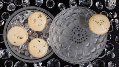 Luxury hotel's 'Crystal Macaron'