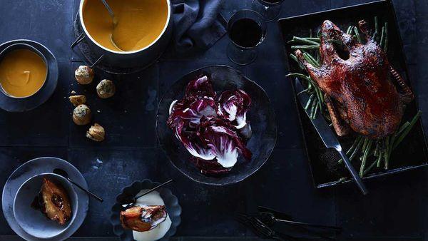The perfect duck roast menu