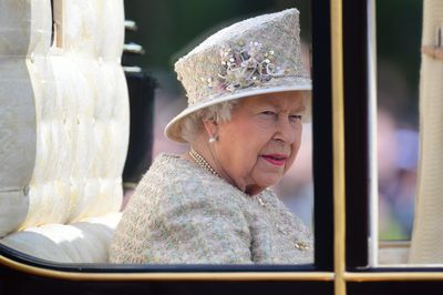 Trooping the Colour: The Queen