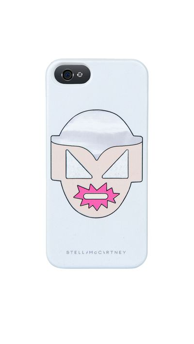"<p><a href=""http://www.stellamccartney.com/us/stella-mccartney/iphone-case_cod46397545oa.html"" target=""_blank"">Superstellaheroes Ciel iPhone 5 Cover, approx. $58, Stella McCartney</a></p>"