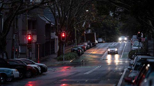 Quiet streets in Surry Hills in Sydney.