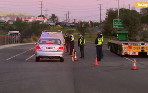 What Melbourne's 'ring of steel' checkpoints look like