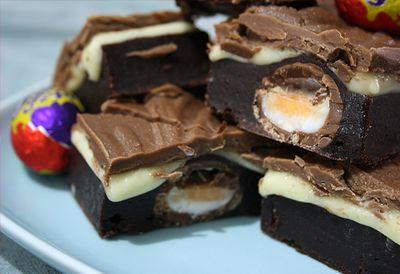 Creme Egg brownies No.2
