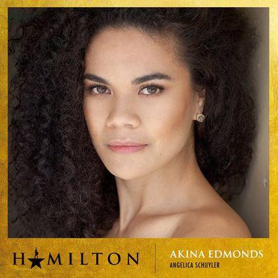 Broadway musical, Hamilton, Australian production, diverse cast, Jason Arrow, Chloe Zuel, Akina Edmonds, Lyndon Watts