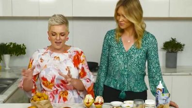 Jane de Graaff and Lara Vella spruce up frozen foods for entertaining