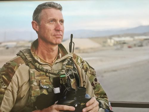Andrew Perry was a former sniper and a flight sergeant in the RAAF.