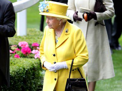 Queen Elizabeth II at Royal Ascot 2018