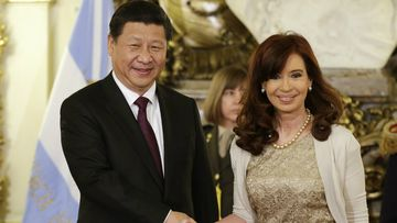 China's President Xi Jinping has called for an objective examination into the MH17 crash, while visiting Argentina President Cristina Fernandez in Buenos Aires. (AAP)