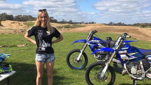 Police said Kimberley was not speeding and all three girls were wearing seatbeats.
