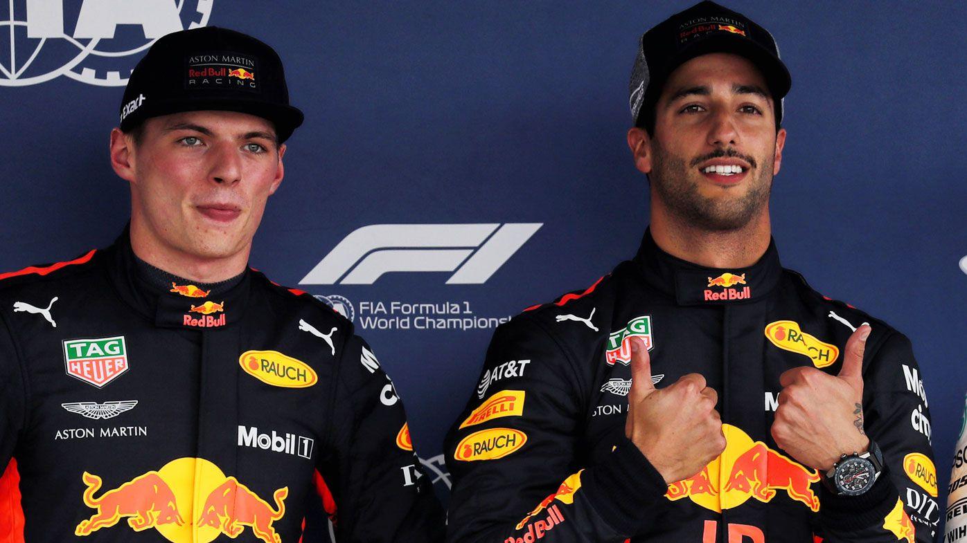 Daniel Ricciardo not tipped for Ferrari job by ex-Red Bull teammate Max Verstappen