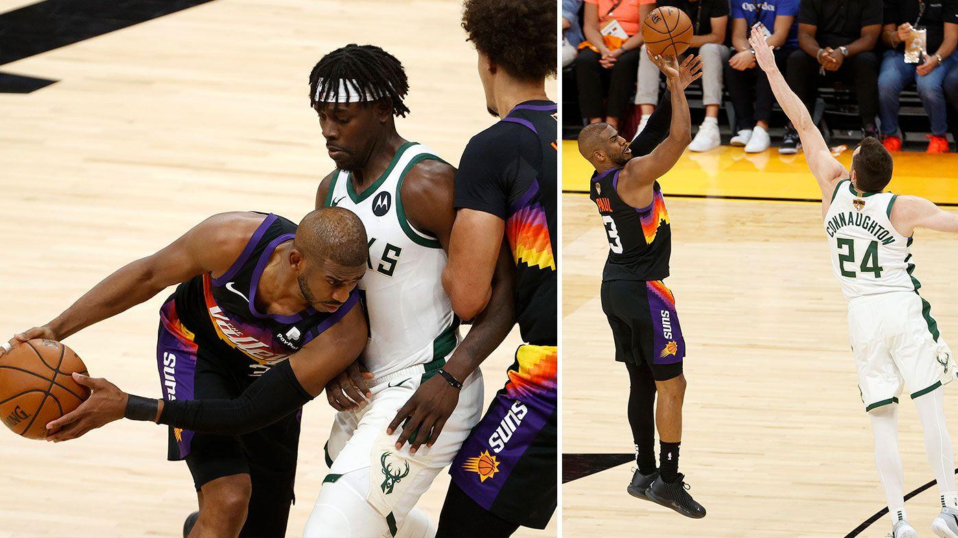 Chris Paul carries Suns past Giannis Antetokounmpo, Bucks in NBA Finals opener