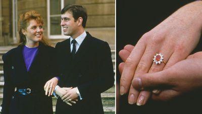 The Duchess of York's Burmese ruby ring