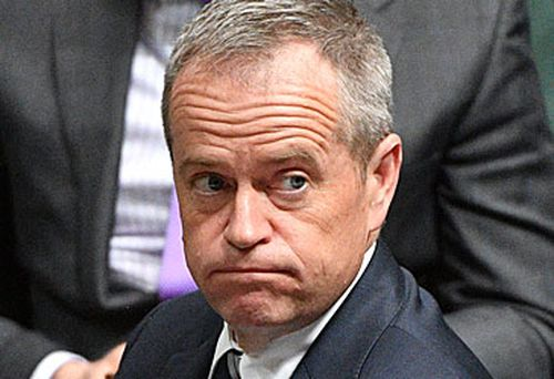 Bill Shorten has had another loss in the polls due to his tax slip up. (AAP)