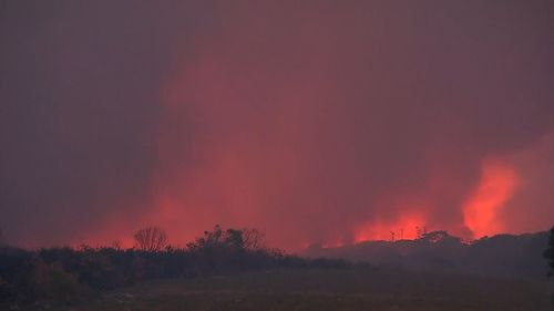 There are close to 70 bushfires burning across the state