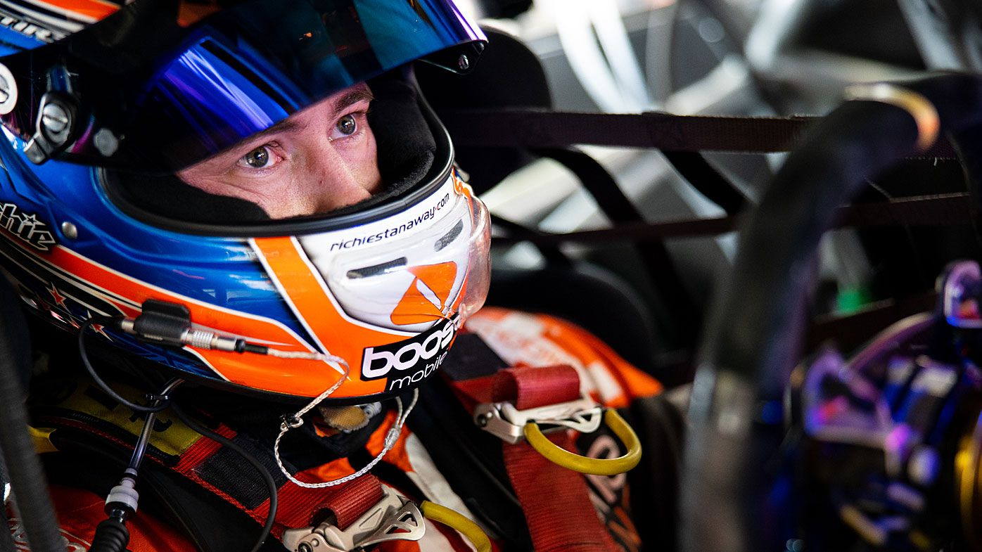Richie Stanaway driver of the #33 Boost Mobile Racing Holden Commodore