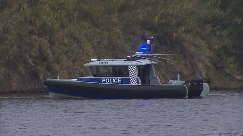 A group of five boys allegedly fled police yesterday afternoon.
