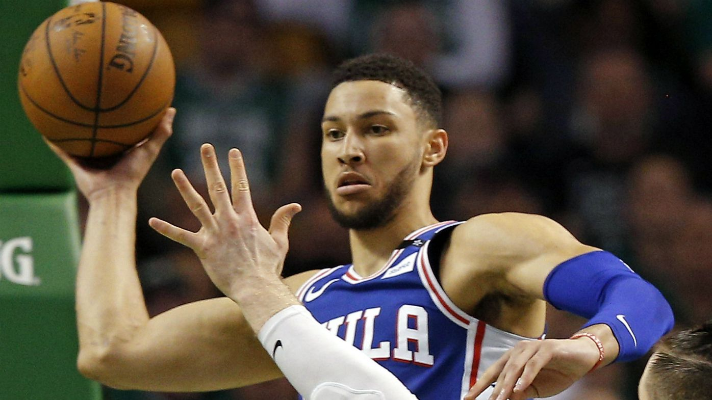 Philadelphia 76ers guard Ben Simmons
