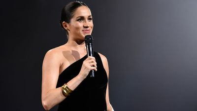 The Duchess of Sussex at the British Fashion Awards, 2018
