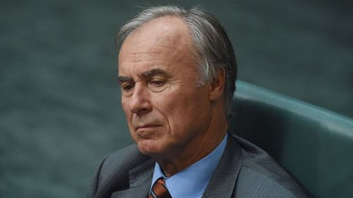 John Alexander says he will re-contest the Bennelong seat.
