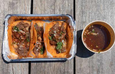 10. Birria tacos — 440.6 million views