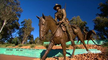 Two new monuments at Anzac Parade