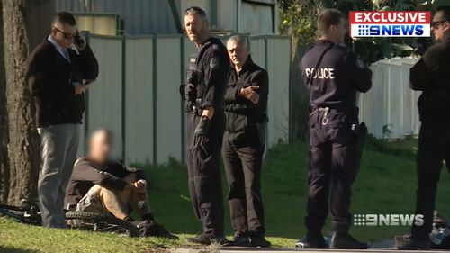 Police swooped on the criminals. Picture: 9NEWS