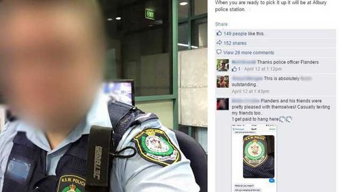 Cops prank woman's Facebook page after finding her lost phone
