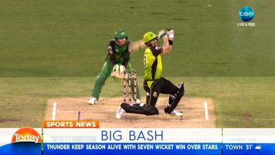 BBL: Sydney Thunder hammer hapless Melbourne Stars