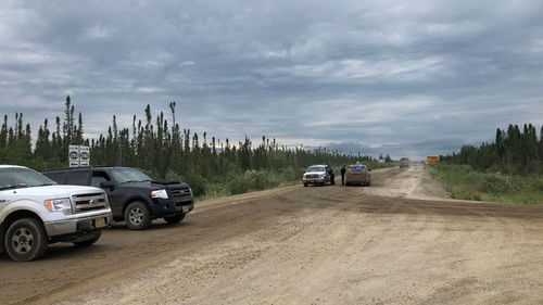 Authorities are focusing their search on abandoned buildings in a remote town in Canadian province that has one road in and one road out.