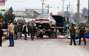 Car bomb explodes near Australian Embassy workers in Kabul