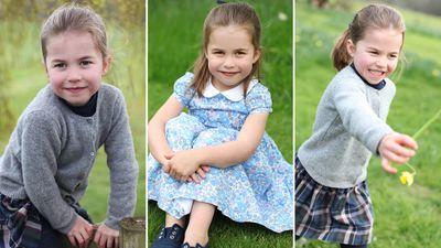 Princess Charlotte turns four