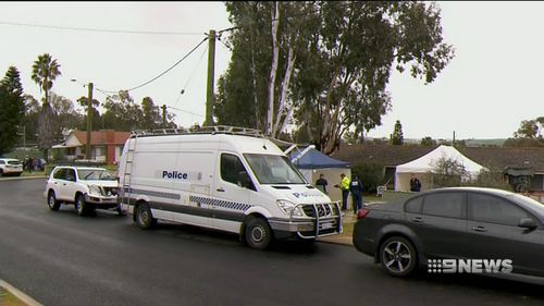 Police found the 51-year-old's body inside the house. Picture: 9NEWS