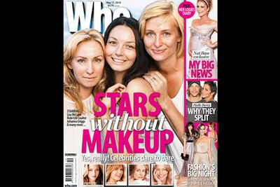 These ladies led the barefaced brigade on <i>Who</i>'s May 2010 issue.