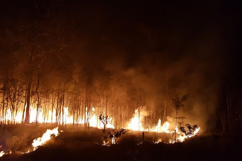 Bushfires in QLD