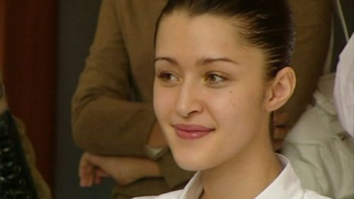 Leslie fronts court in 2005. (9NEWS)