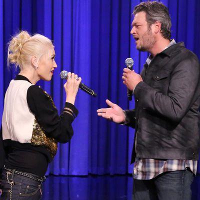 Gwen Stefani and Blake Shelton: 3 months later