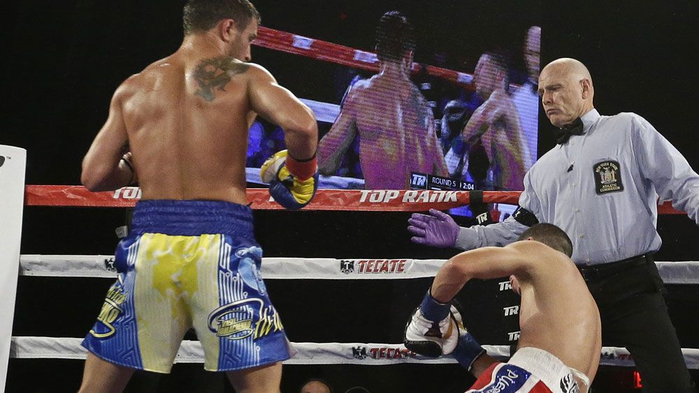 Boxing: Lomachenko creates history with brutal right hook