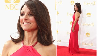 VEEP star Julia Louis-Dreyfus (Getty).
