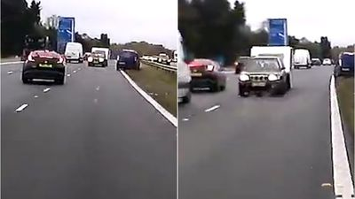 Caravan driver kills three after driving wrong way on UK freeway