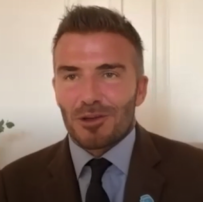 Beckham has spoken about his darkest time during a video chat for Head's Up.
